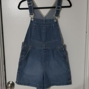 Womens GAP overall shorts
